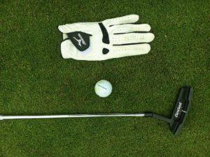 Schwitzen beim Golf